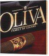 Oliva Cigar Still Life Wood Print