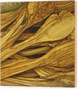Olive Wood Wood Print
