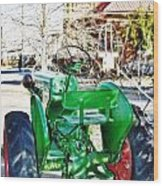 Oliver 60 Tractor In Dell Wood Print