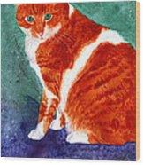 Oliver Wood Print
