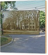 Oliver C. Brownell House On The Commons In Little Compton Rhode Island Wood Print