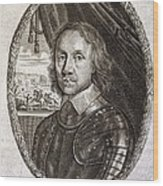 Oliver Cromwell, English Politician Wood Print
