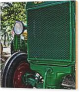 Oliver Tractor Wood Print
