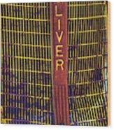 Oliver Twisted Wood Print