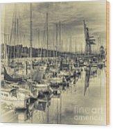 Olympia Marina 3 Wood Print