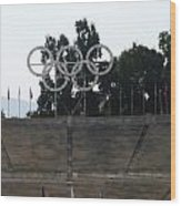 Olympic Rings Wood Print