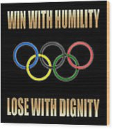 Olympic Spirit Wood Print
