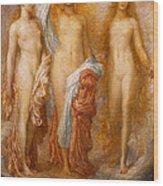 Olympus On Ida Wood Print