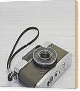 Olympus Pen-film Camera Wood Print by Tuimages