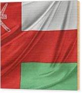 Oman Flag Wood Print