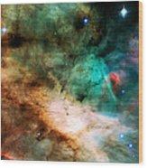 Omega Swan Nebula 2 Wood Print