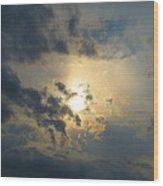 Ominous Skies Wood Print by Jaime Neo