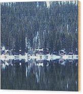 On Donner Wood Print