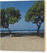 On Hawaii's The Big Island Wood Print