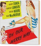 On Our Merry Way, Us Poster, Dorothy Wood Print