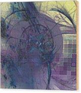 On Psychic Energy Wood Print