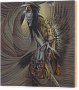 On Sacred Ground Series IIl Wood Print