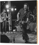 On Stage Wood Print by   Joe Beasley