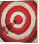 On Target Wood Print by Don Hammond