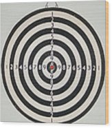 On Target Wood Print by Paula Rountree Bischoff