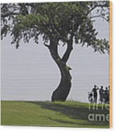 On The Banks Of The Baltic Sea Wood Print by Heiko Koehrer-Wagner