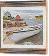 On The Dock Wood Print