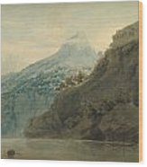 On The Gulf Of Salerno Near Vietri Wood Print