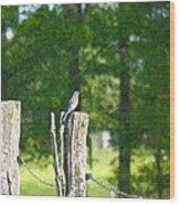 On The Hunt 2 Wood Print