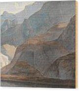 On The Lake Of Como Wood Print