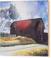 On The Macon Road. - Saline Michigan Wood Print