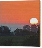 On The Plains Wood Print