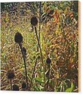 On The Prairie #4 Wood Print