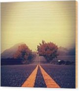 On The Road To Nowhere Wood Print