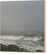 On The Seas Of Narragansett Wood Print