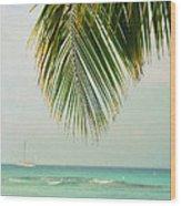 On Your Horizon  Wood Print