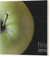 One Apple - Still Life Wood Print