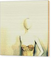 One-armed Mannequin Wood Print