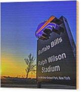 One Bills Drive Wood Print