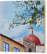One Fine Day In Cuba Wood Print