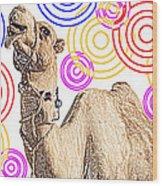One Funky Camel Wood Print