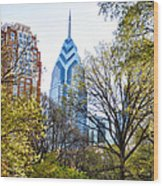 One Liberty Place Wood Print