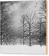 One Night In November Wood Print by Bob Orsillo
