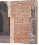 One Pillar  Wood Print