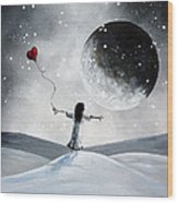 One Small Dream By Shawna Erback Wood Print