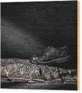 One Step Wood Print by Bob Orsillo