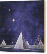 One Tribe Wood Print