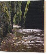 Onieata Gorge Wood Print