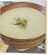 Onion Soup Wood Print