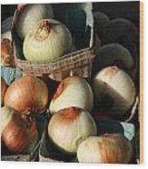 Onions 2 Wood Print
