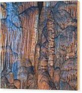 Onondaga Cave Detail Img 4270 Wood Print